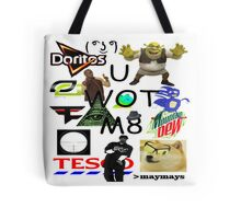 U WOT M8 Montage Parody (Dress Code Safe) Tote Bag
