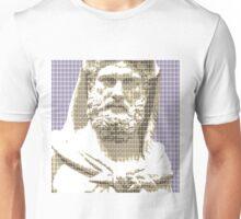 Greek Statue #3 - Violet Unisex T-Shirt