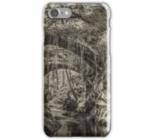 The Roman Bridge in Penmachno , North Wales  iPhone Case/Skin