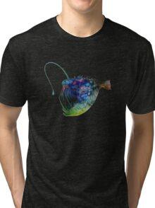 Angler Fish Tri-blend T-Shirt