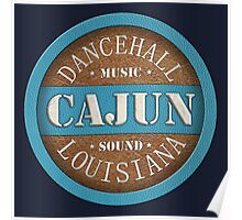 Dancehall Cajun Louisiana Poster