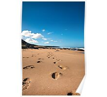 Leave Only Footprints Take Only Memories Poster