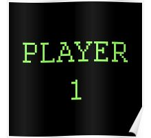 Player 1 Poster