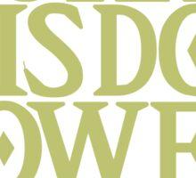 The Legend of Zelda - Courage Wisdom Power Sticker