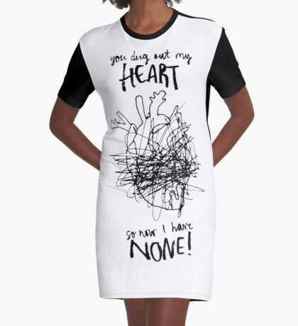 Heartless Graphic T-Shirt Dress
