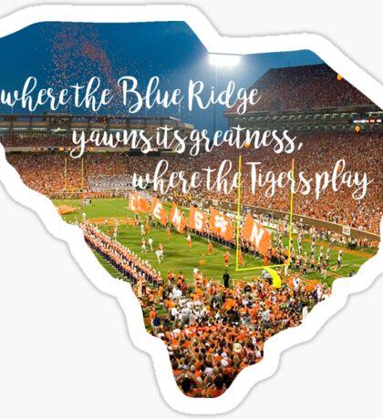 Where the Blue Ridge Yawns its Greatness Sticker