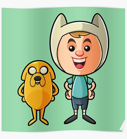 Adventure time friends Poster