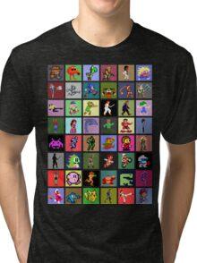 Pixel Heroes Tri-blend T-Shirt