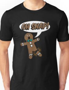 Gingerbread Man Oh Snap Unisex T-Shirt