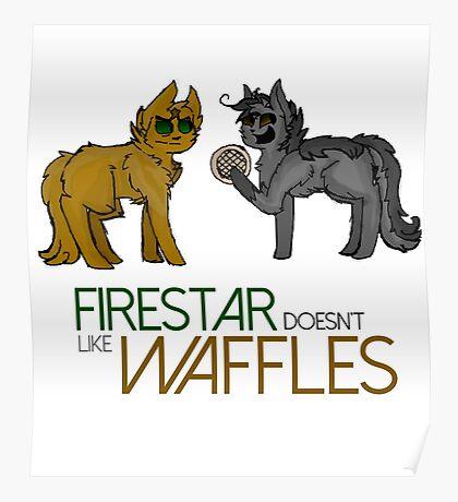 Firestar and Greystripe Poster