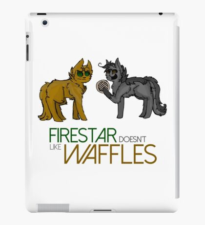 Firestar and Greystripe iPad Case/Skin