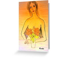 Breastcancer have a mammogramm this month..... Greeting Card