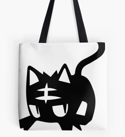 Litten Black Tote Bag