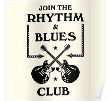 Rhythm And Blues Club  Poster