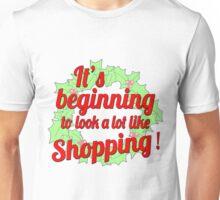 Christmas Shopping Unisex T-Shirt