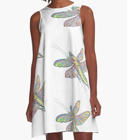 dragonfly A-Line Dress
