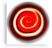 Spiral Fire Canvas Print
