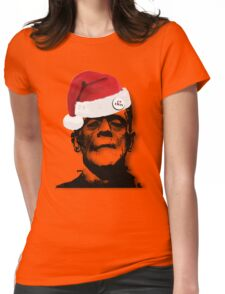 Frankie Likes Xmas Womens Fitted T-Shirt