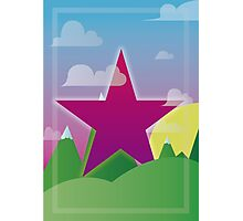 cool star Photographic Print