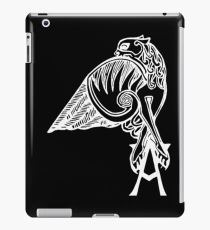Buffy the Vampire Slayer - Angel's Tattoo (white) iPad Case/Skin