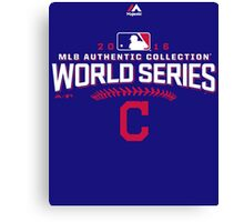 CLEVELAND INDIANS WORLD SERIES 2016 Canvas Print