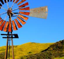 Water Pumping Windmill Sticker
