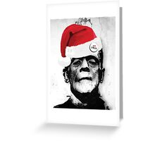 Frankie Likes Xmas Greeting Card