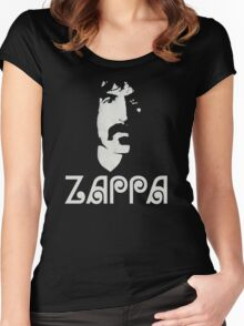 Frank Zappa Silhouette Women's Fitted Scoop T-Shirt