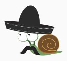 Caracolcito Bandito snail  One Piece - Short Sleeve