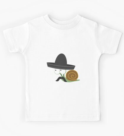 Caracolcito Bandito snail  Kids Tee