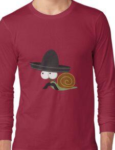 Caracolcito Bandito snail  Long Sleeve T-Shirt