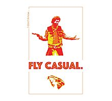 Fly Casual Photographic Print