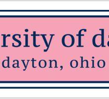 University of Dayton  Sticker