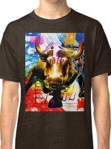 Wall Street Bull Painted Classic T-Shirt