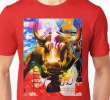 Wall Street Bull Painted Unisex T-Shirt