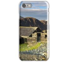 Dubs Hut Bothy on the path to Haystacks iPhone Case/Skin