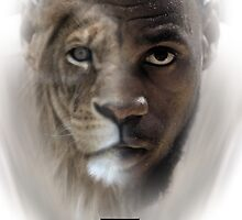 LeBron James 'Lion' Design by AMMSDesigns