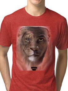 LeBron James 'Lion' Design Tri-blend T-Shirt