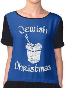 Jewish Christmas Chiffon Top