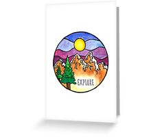 Explore the Outdoors  Greeting Card