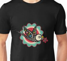 Mexican - The Bird Of Day Of The Dead Unisex T-Shirt