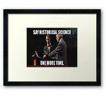 Historical Science Framed Print