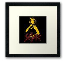 Buffy - Slayer Logo Framed Print