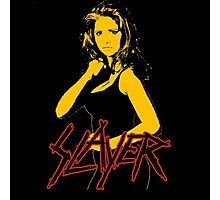 Buffy - Slayer Logo Photographic Print