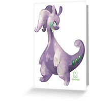 Pokémon - Goodra Greeting Card