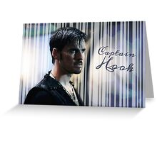Captain Hook - watercolour effect Greeting Card