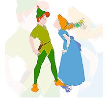 Peter & Wendy Photographic Print