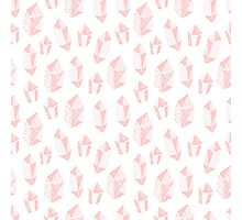 Pattern with crystals Photographic Print