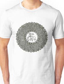 """""""You Are Loved"""" mandala Unisex T-Shirt"""
