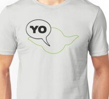 Star Wars Yoda Yo Parody  Unisex T-Shirt